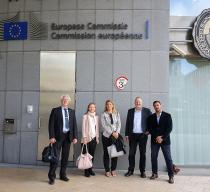 Sjöbefälsföreningen träffar EU-kommissionen